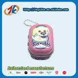 Keychain promocional Caixa de lata quadrada com brinquedos para animais de plástico Fabricante de cães