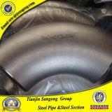 Tubo de aço de carbono de 90 graus 8 polegadas Cotovelo de tubulação de 90 graus