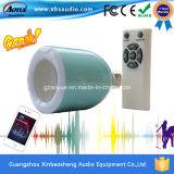 직업적인 휴대용 소형 오디오 무선 LED 전구 스피커