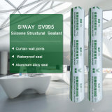 Puate d'étanchéité structurale neutre de silicones pour le joint d'adhésif de structure de mur rideau