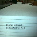 El panel ligero del aislante de la espuma de la fibra de vidrio EPS para el edificio prefabricado