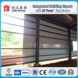 넓은 Span Sandwich Panel 및 Corrugated Steel Structure Prefabricated Warehouse