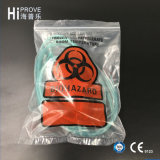 Sacs Destroyable de Tearzone de Triple-Mur de symbole de Ht-0792 Biohazard