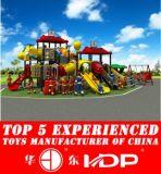 屋外のプラスチック運動場の遊園地のスライド(HD14-020A)