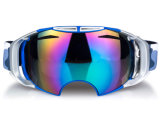 Ultraviolet Revo Coated Winter Safety Promotion Eyewear Over Glasses