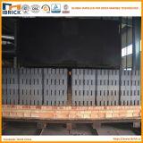 Bloco da argila da produção do tijolo da argila de Full Auto que faz a estufa de túnel despedida do tijolo do gás da maquinaria