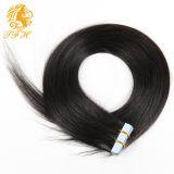 De Uitbreidingen van het Haar van de band, de Natuurlijke Uitbreidingen van het Menselijke Haar, 20 PCs, Zijdeachtig Braziliaans Maagdelijk Haar, de Inslag van de Huid van de Band Remy, 10 Kleuren