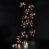 64 indicatori luminosi artificiali della decorazione del rattan della batteria di PCS LED per la decorazione della casa della parete