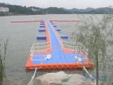 Hecho en muelle el pontón de flotación de China
