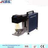 Machine chaude d'inscription de laser de fibre d'Oprtable 3D de ventes