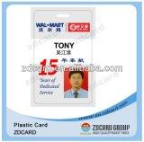 플라스틱 직원 ID 카드 PVC Facebook ID 카드