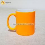 Кружка сублимации Latte кофейной чашки теплочувствительного цвета изменяя