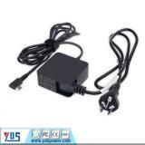 HP/Asus/Lenovo/DELLのための30W 45W 5V/9V/12V/15V/20V USB PdのタイプC充電器のアダプター