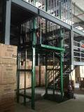 elevador da plataforma de transferência da carga do armazém 2000kgs