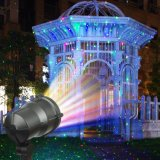 星夜レーザーのシャワーのクリスマスの照明