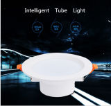 Détecteur radar 5W 7W DEL intelligente Downlight