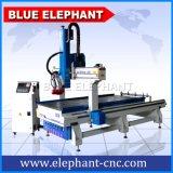 1330 Máquina de fabricação de móveis, Máquina de perfuração de madeira CNC de 4 eixos para madeira, móveis, alumínio