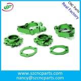 As peças fazendo à máquina do CNC, peças de metal da precisão, CNC giraram as peças