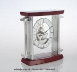Orologio di legno fatto a mano della Tabella di alta qualità per l'orologio cinque stelle K3046 dell'hotel