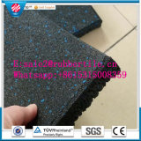 Azulejo de suelo de goma al aire libre colorido del CE, pavimentadora del caucho del patio