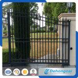 Puerta durable del hierro labrado de la seguridad residencial práctica (dhgate-26)