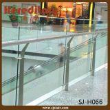 Externe Aluminiumglasbalustrade für das Treppen-Mit der Eisenbahn befördern (SJ-717)