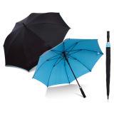 Ombrello in bianco e nero antivento aperto automatico di golf (FS-64001)