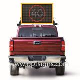 Le message variable portatif de la circulation DEL signe les VMs montées par camion