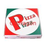 Белый экстерьер и коробка естественных/Kraft нутряная пиццы (PIZZ-017)