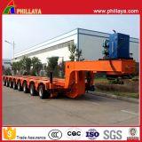 250 toneladas de acoplado modular hidráulico del transporte resistente de la maquinaria