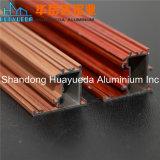 Perfis de alumínio da extrusão do revestimento de madeira amplamente utilizado