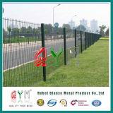 Cerca soldada cubierta polvo de /Polyester de la cerca del acoplamiento soldado del verde