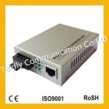 Sc Connector Dual Fiber Optic Media Converter di 20km Single Mode