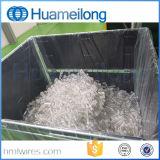 Stackable складная тара для хранения ящика металла