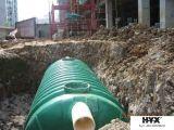 El tanque horizontal de FRP para el tratamiento de aguas residuales