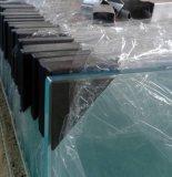 正方形の&Roundの緩和されたガラス強くされた