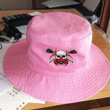 Шлем ведра крышки пляжа рыболова способа вышитый шлемом