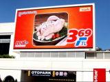 Im Freien farbenreiche Bildschirmanzeige LED-P10 für das Bekanntmachen