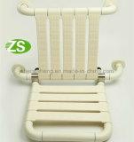 Equipamiento médico montado en la pared plegable de la silla de ducha del ABS