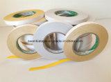 La cinta del bordado/el doble amarillo del bordado echó a un lado cinta/doble echó a un lado cinta