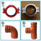 Accessorio per tubi ed accoppiamenti scanalati ferro duttile per protezione antincendio con FM/UL