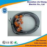 Chicote de fios de conexão feito sob encomenda 15pin do fio da tela de monitores