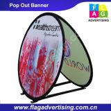Facile à prendre et installer la publicité flexible sautent à l'extérieur le drapeau