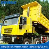 Euro 4 do caminhão de /Tipper de Qualirty elevado 350HP 8X4 Dumptruck/descarregador com tipo de Iveco Hongyan