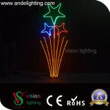 Straßen-Motiv-Lichter des Weihnachtenled Pole eingehangene
