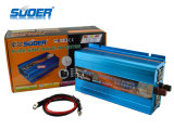 Suoer Solar Power Inverter 1000W sinusoïdale pure Wave Power Inverter 12V à 220V Home Use Power Inverter avec CE & RoHS (FPC-1000A)