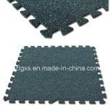 Pavimentazione di gomma di collegamento delle stuoie di gomma di ginnastica di EPDM Flekcs