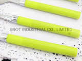 새로운 디자인 플라스틱 손잡이 스테인리스 칼붙이 가스 숟가락