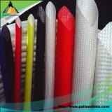 Texturized 섬유유리에 의하여 땋아지는 소매를 다는 보호 철사 또는 케이블 또는 호스 또는 관 또는 관
