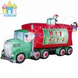 Snowmobile Sleigh 썰매를 몰아 크리스마스 팽창식 산타클로스